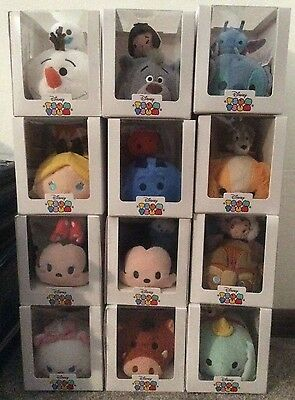 BRAND NEW Disney Store TSUM TSUM SUBSCRIPTION Box COLLECTION Complete Set of 12
