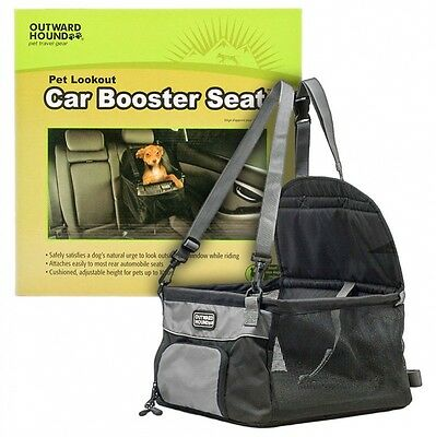 OUTWARD HOUND PET LOOKOUT CAR BOOSTER SEAT UP TO 20 LB. SAFETY SEAT open box