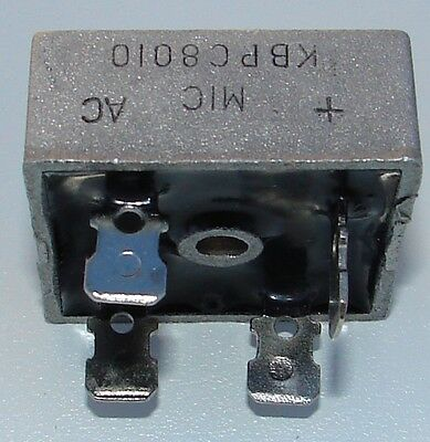 KBPC8010 80A amp 1000v  NEW DIODE BRIDGE RECTIFIER convert AC to DC HHO 70A 80