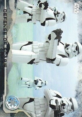 2016 Star Wars Rogue One Series One Death Star Black #26 Defense of Scarif