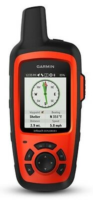 New Garmin inReach Explorer+ Handheld Satellite Communicator GPS 010-01735-10