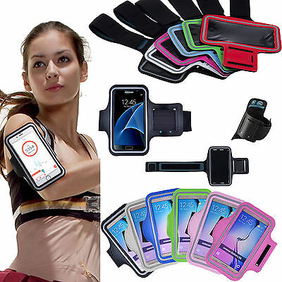 Sport Running GYM Armband Case Cover for Samsung Galaxy S 7 6 Note 4 5 edge+ A8