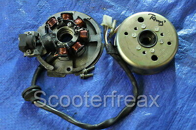 Tauris Samba 50 original Alternator + Pole wheel Explorer Race GT 50