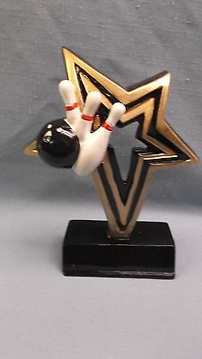 BOWLING infinity star full color resin award NFR103