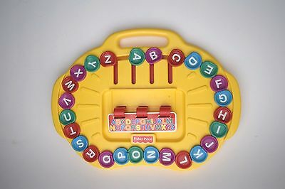 Fisher Price Alpha-Go-Round Alphabet Learning Spelling 1997 #72489 Preschool a-z