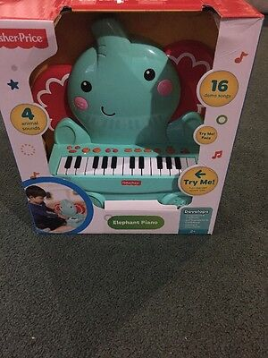 "Fisher Price Music Elephant Piano ""Most Popular"""