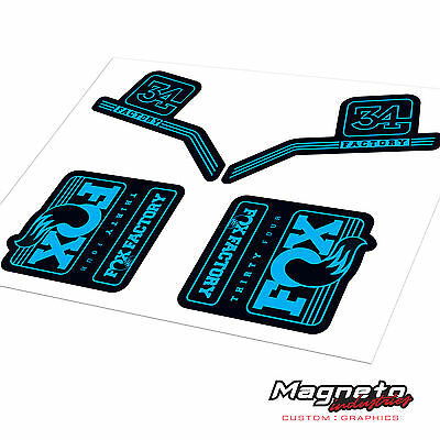 Fox 34 2016 - Reproduction Fork Decals