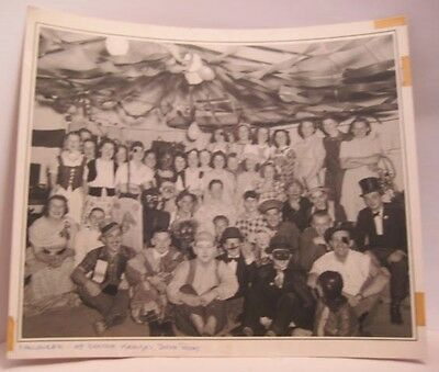 Old Halloween Party at Doctor Krauses Photograph signed Lawrence Wenchel JR