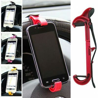 Small and medium-sized steering wheel cradle for smartphones