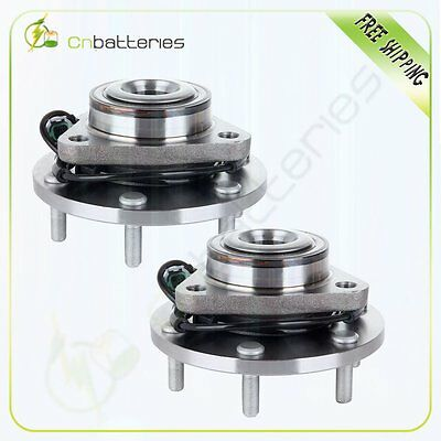 Pair Of 2 New Front LH Or RH Wheel Bearing And Hub Assembly 2WD 4WD 6 Lug