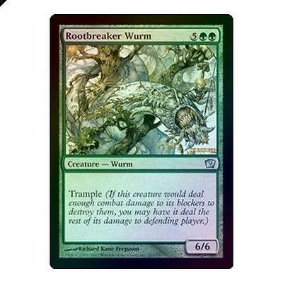 Magic The Gathering MTG Rootbreaker Wurm - Foil 9th Edition Singles