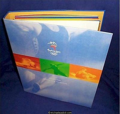 2000 Sydney Olympic set of 28 $5 Uncirculated Coins in Binder