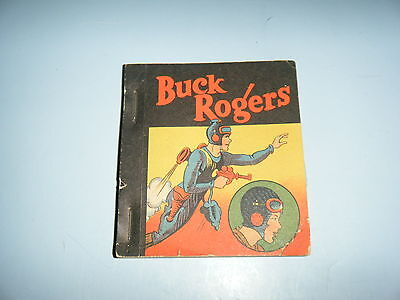 1935 Buck Rogers Gas Station Giveaway Soft Cover Big Little Book Blb Rare!