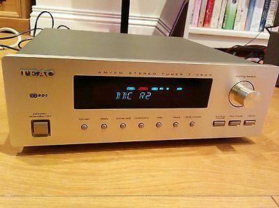 TEAC T-H500 RDS AM/FM Stereo Tuner Radio Reference seperate +Arial 300 champagne