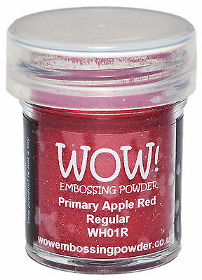 WOW! Embossing Powder 15ml-Apple Red