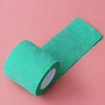 24 Rolls Medical First Aid Bandage Elastic Horse Wrapping Tape Green 5cm*4.5m