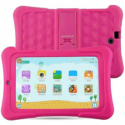 Tablet PC Kids 7 pollici Android 5.1 Quad Core IPS FHD 1920x1200 16GB WIFI-Rosa