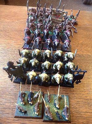 Warhammer. Skaven Army. Includes Plague Rats, Clan Rats And Giant Rats. Plastic.