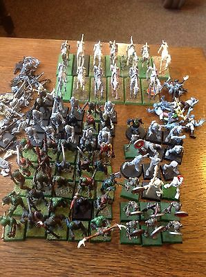 Warhammer. Undead Army. Includes Zombies And Horses. Plastic.