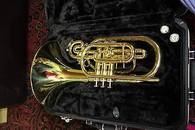 Jupiter 5050L Quantum Marching Mellophone LACQUER DISPLAY MODEL MINT QuinnTheEsk