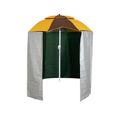 FOLDABLE FISHING UMBRELLA SHELTER Outdoor with hold down pegs beach sun shelter