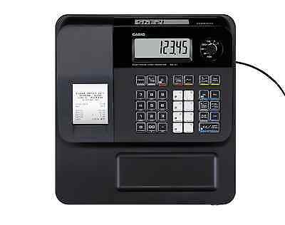 Casio SE-G1 Black Cash Register Ex Rental 6 Month Warranty with 5 Till Rolls
