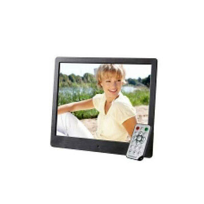 "INTENSO 8"" Media Artist Digitaler Bilderrahmen + Fernbedienung TFT-LCD Display"