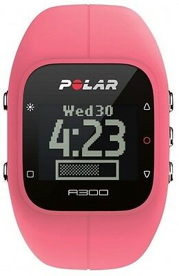 POLAR A300 Fitness and Activity Tracker with Heart (Pink)