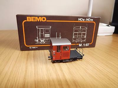 K62: Bemo HO Narrow Gauge Diesel Works Tractor No 1273/5 Exc / Boxed