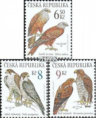 czech republic 374-376 (complete.issue.) unmounted mint / never hinged 2003 Bird