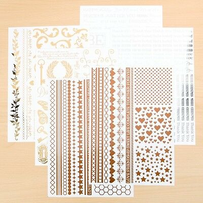 Bo Bunny Metallic Foil Transfers Variety Pack- 178 pieces