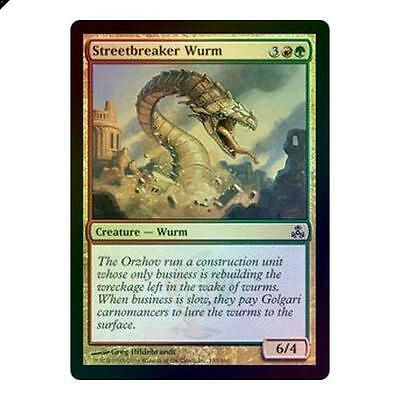Magic The Gathering MTG Streetbreaker Wurm - Foil Guildpact Singles
