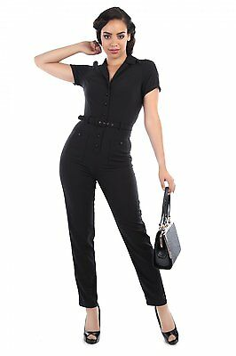 Collectif Vintage Carrie Jumpsuit