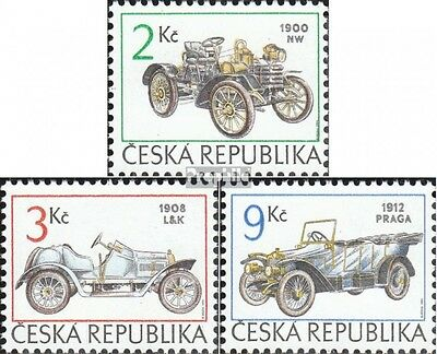 czech republic 53-55 (complete.issue.) unmounted mint / never hinged 1994 Cars