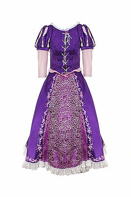 Rapunzel delux dress costume adult women's fancy dress professional entertainers