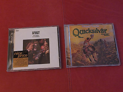 2 x Cd Quicksilver Messenger Service - Happy Trails / Spirit - Twelve Dreams Of