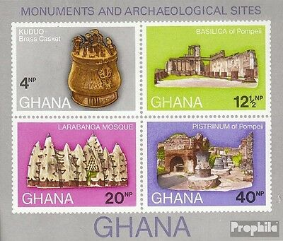 Ghana block41 (complete.issue.) unmounted mint / never hinged 1970 Finds