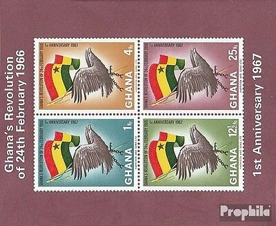 Ghana Block24B (complete.issue.) unmounted mint / never hinged 1967 Revolution