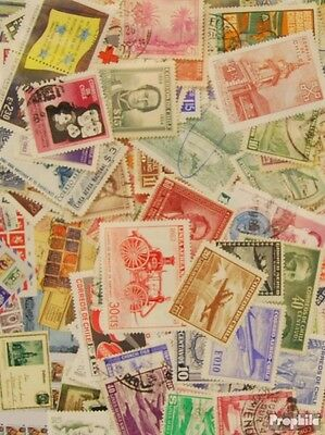 Chile 250 different stamps
