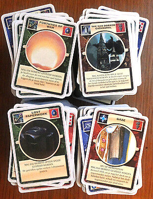 Doomtrooper Huge Lot In Dutch Language 600+ Cards!! Mutant Chronicles