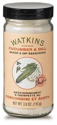 Lot of 3 Watkins Cucumber Dill Snack & Dip Seasoning 3.9 oz