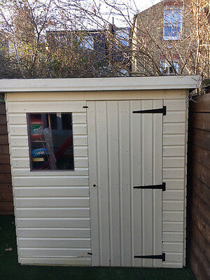 Garden Shed 6x4 Pent
