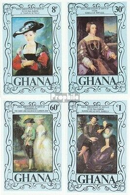 Ghana 710B-713B (complete.issue.) unmounted mint / never hinged 1977 Painters