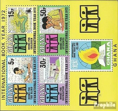 Ghana block45 (complete.issue.) unmounted mint / never hinged 1972 Book