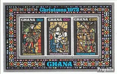 Ghana block48 (complete.issue.) unmounted mint / never hinged 1972 christmas
