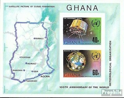 Ghana Block51B (complete.issue.) unmounted mint / never hinged 1973 WMO