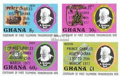 Ghana 694B-697B (complete.issue.) unmounted mint / never hinged 1977 Charles