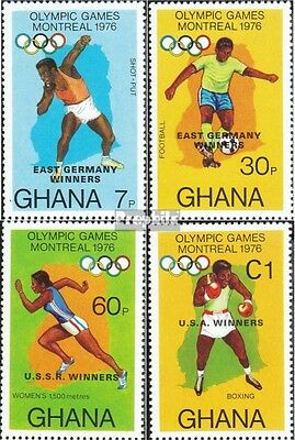 Ghana 686A-689A (complete.issue.) unmounted mint / never hinged 1977 Olympia