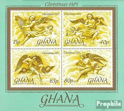 Ghana block63 (complete.issue.) unmounted mint / never hinged 1975 christmas