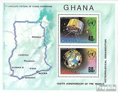 Ghana block51a (complete.issue.) unmounted mint / never hinged 1973 WMO